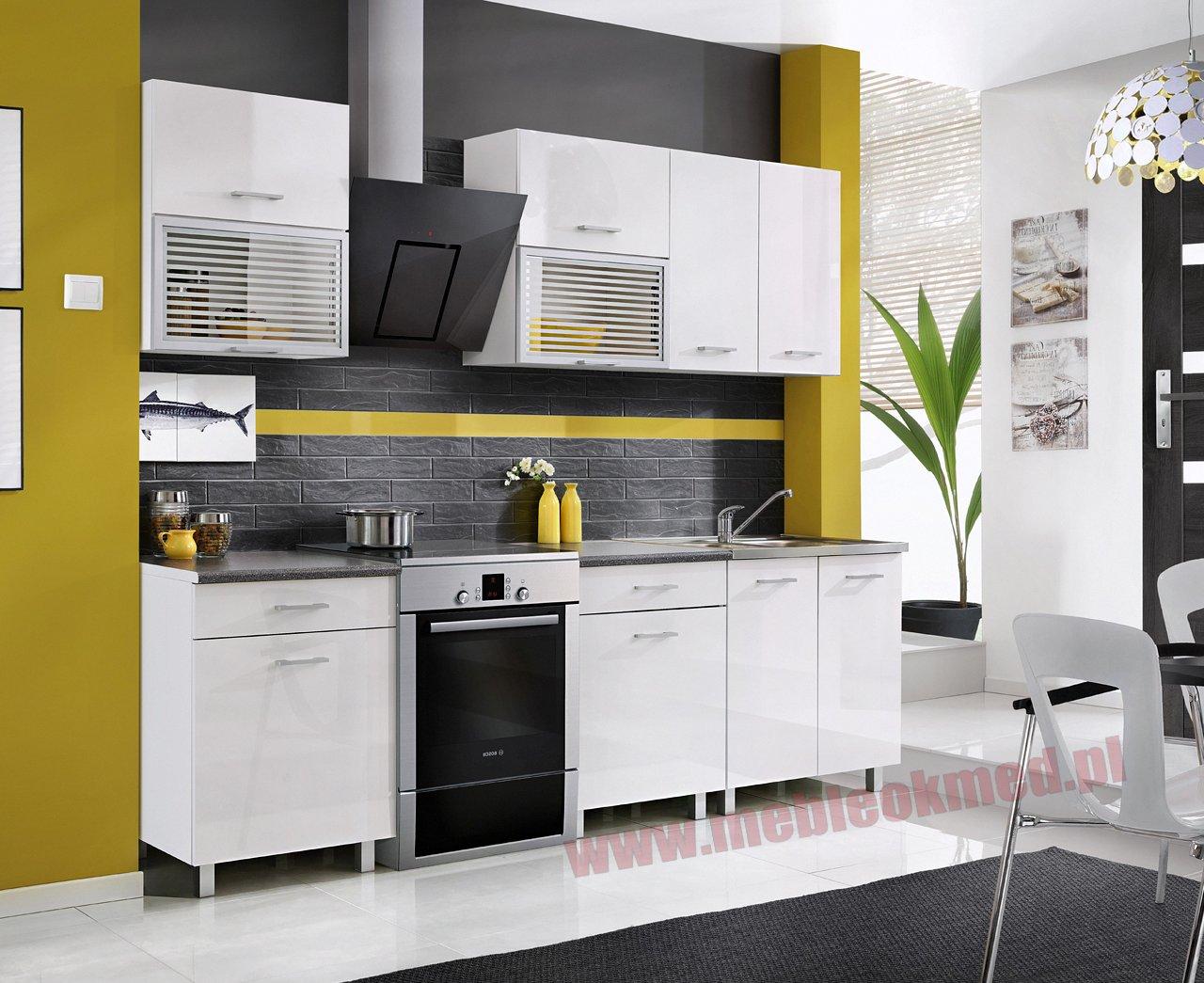 MEBLE OKMED – producent mebli Meble pokojowe, kuchenne, sypialne, młodzieżow   -> Leroy Merlin Kuchnia Fiona Biala